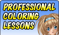 Learn to color like a professional! Professional Coloring Lessons!